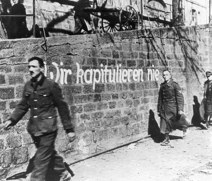 Durchhalteparole, 1945; Wehrmacht