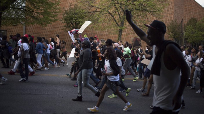 March in Baltimore