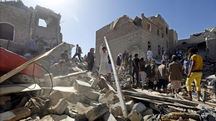 Saudi Arabia leads strikes in Yemen