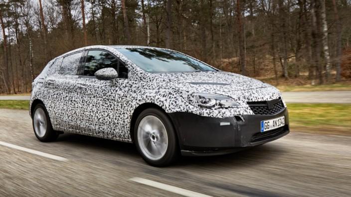 Opel bereitet IAA-Premiere des neuen Astra vor