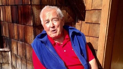 Schloss Elmau: Gerhard Haase ist 83 Jahre alt und genießt lebenslanges Wohnrecht in der Schindelhütte.