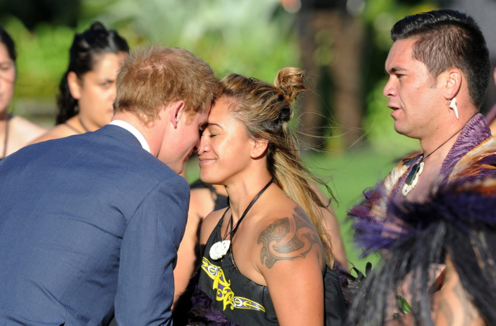Prince Harry in New Zealand