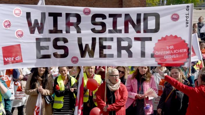 Kita-Streiks im Norden