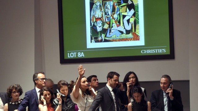 Picasso sells for $179.3 mln world auction record