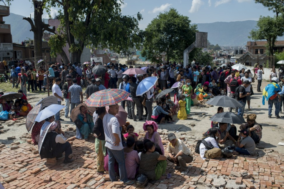 Another Powerful Earthquake Strikes Nepal