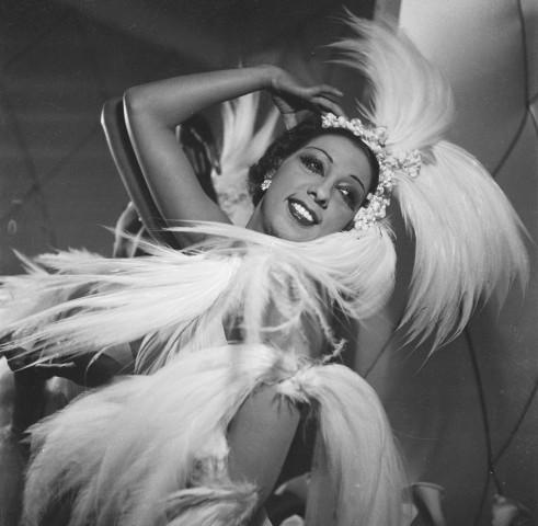 Josephine Baker (1906-1975), American artist of mu