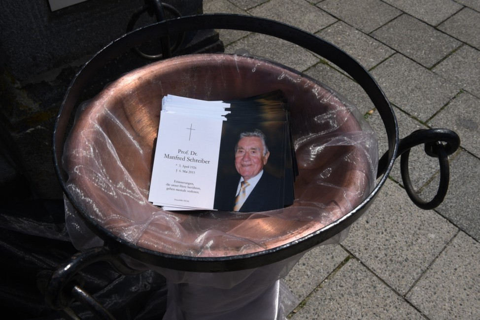 Manfred Schreiber Abschied