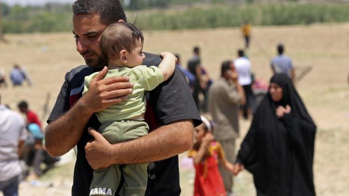 Flüchtlinge in der irakischen Provinz Anbar