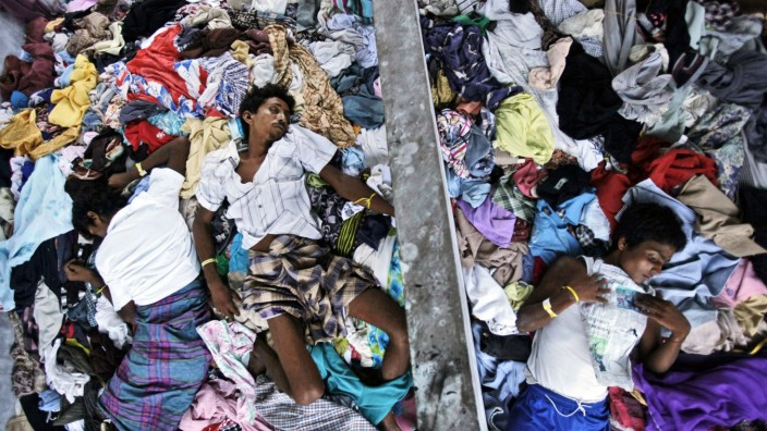 Flüchtlingsdrama in Asien: Unterdückt in Myanmar: Flüchtlinge der ethnischen Minderheit der Rohingya in Indonesien