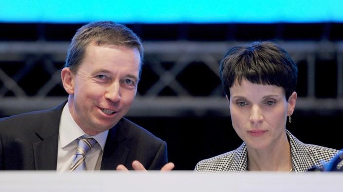 AfD  - Bernd Lucke und Frauke Petry