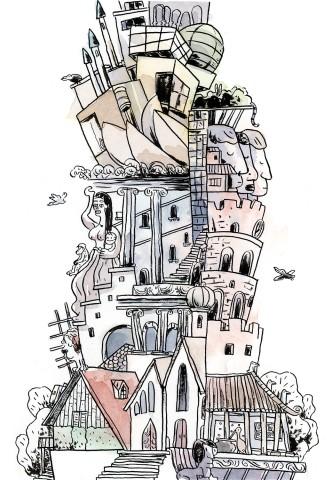 Turm zu Babel Babylon