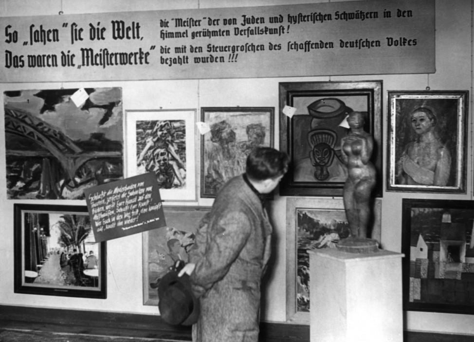 Verspottung von judischen Künstler, undatiert