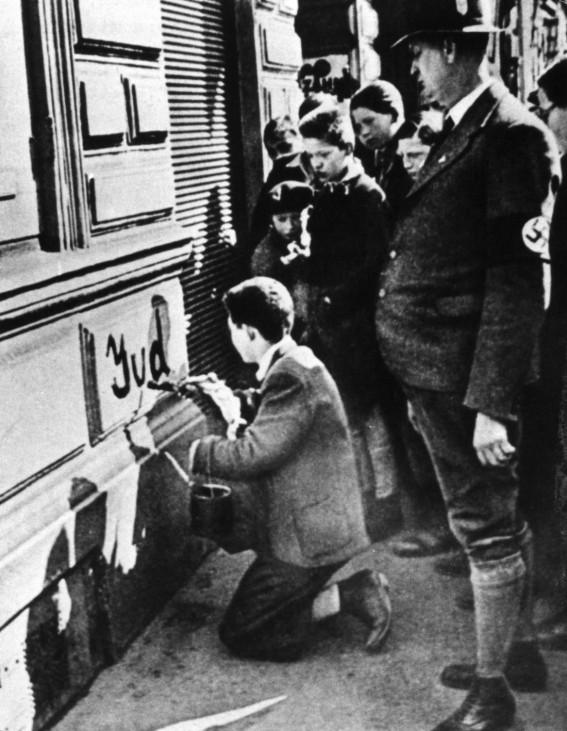 Antisemitische Ausschreitung in Wien, 1938