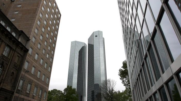 Versuchter Prozessbetrug: Doppelte Türme: die Zentrale der Deutschen Bank.