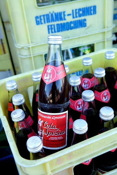 Spezi Mischgetränk aus Cola und Limonade