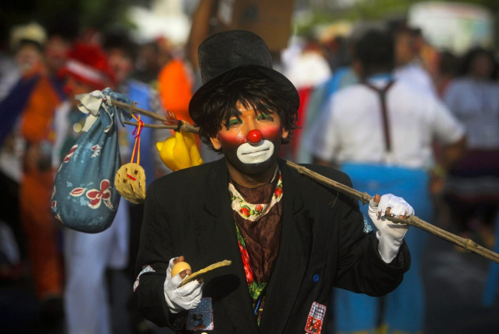 Clowns International Convention in El Salvador