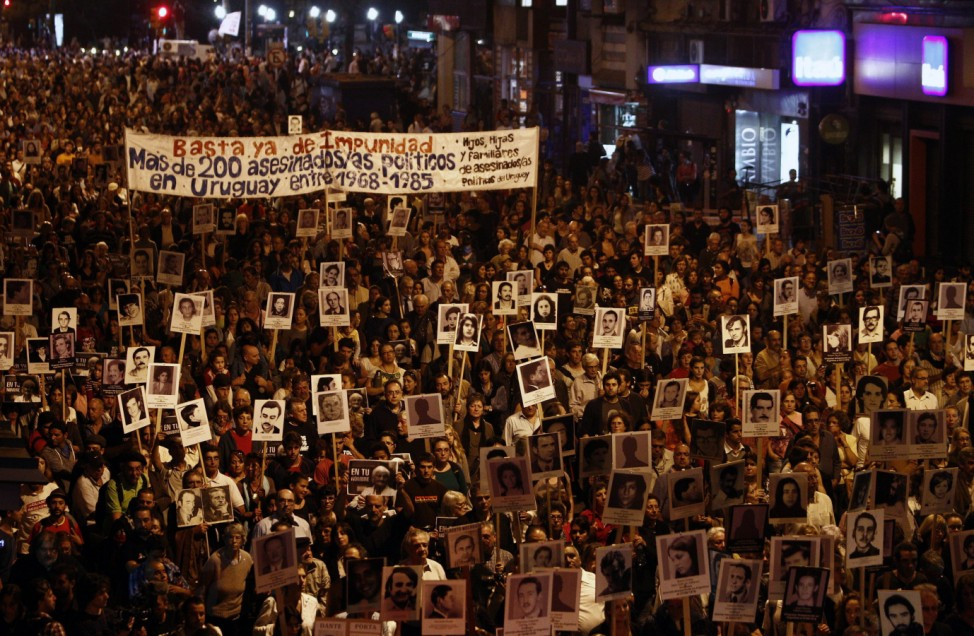 March of Silence for the missing in Montevideo