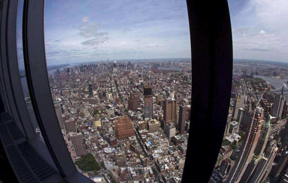 Manhattan Skyline, One World Observatory, One World Trade Center, New York