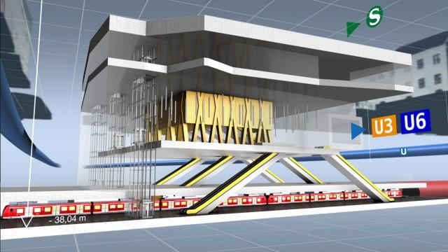Rathaus: Kommt sie noch? Die Finanzierung für die zweite S-Bahn-Röhre ist völlig ungeklärt.