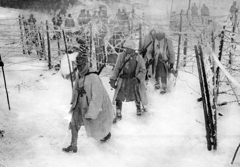 Österreichisch-ungarische Stellung, 1915