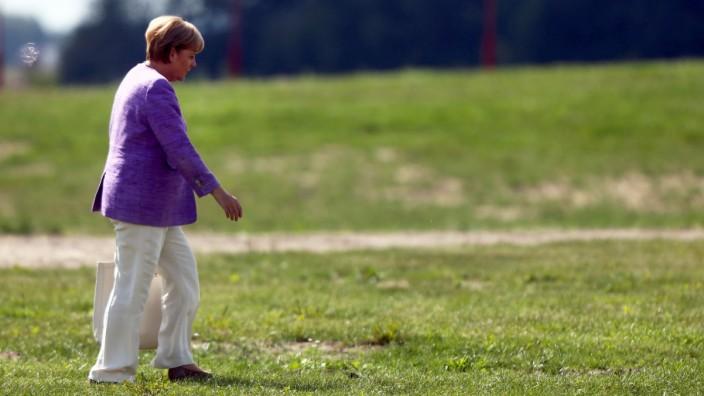 CDU-Wahlkampf Merkel