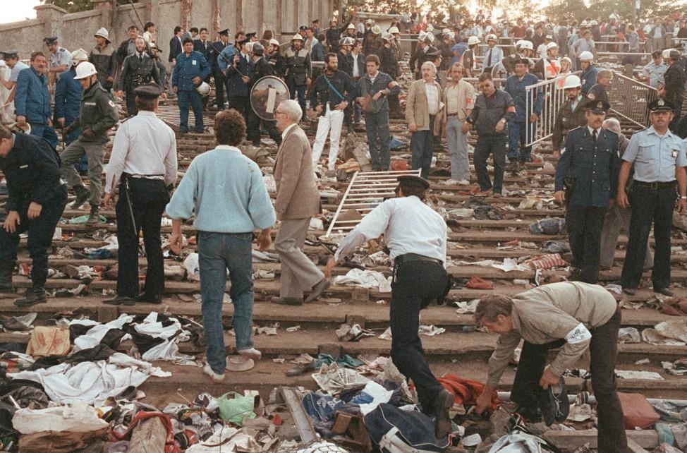 SPORT-VIOLENCE-STADE DE HEYSEL 85052926