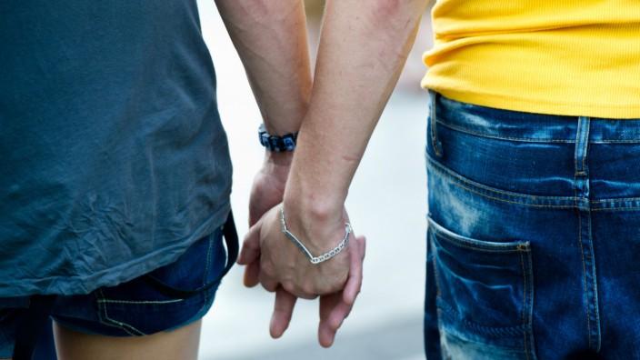 Schwules Paar