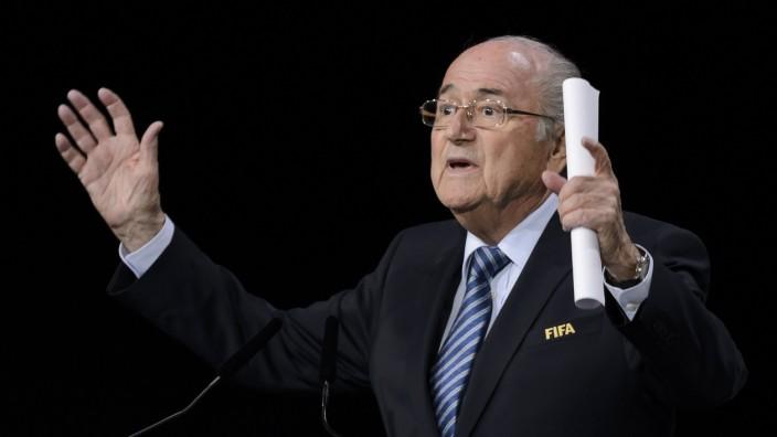 Fifa-Wahl: Sepp Blatter kämpft in Zürich um die Wiederwahl.