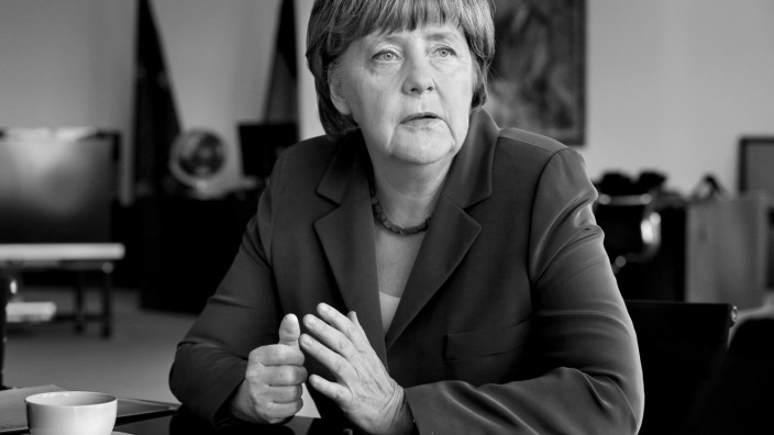 Angela Merkel im SZ-Interview