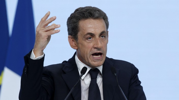 France's UMP -Union for Popular Movement- Party, Headed By Former President N.Sarkozy Changes Its Name to 'Les Republicains'
