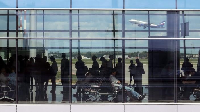 Sheremetyevo airport transit area