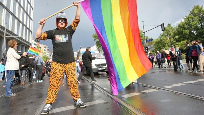 Demo für die Homo-Ehe