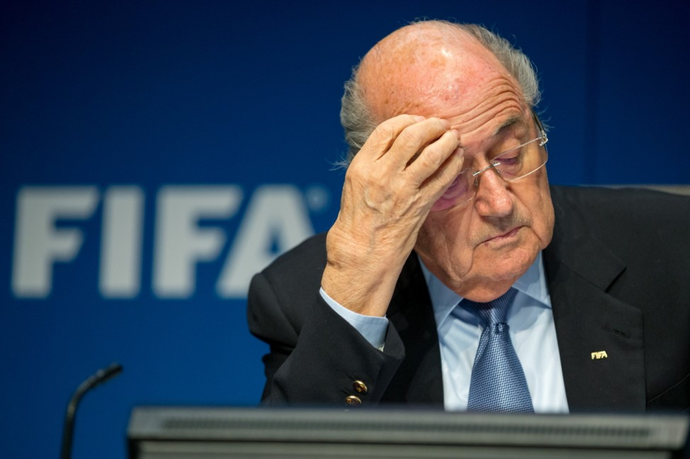 FILE: FIFA President Sepp Blatter Announces Resignation