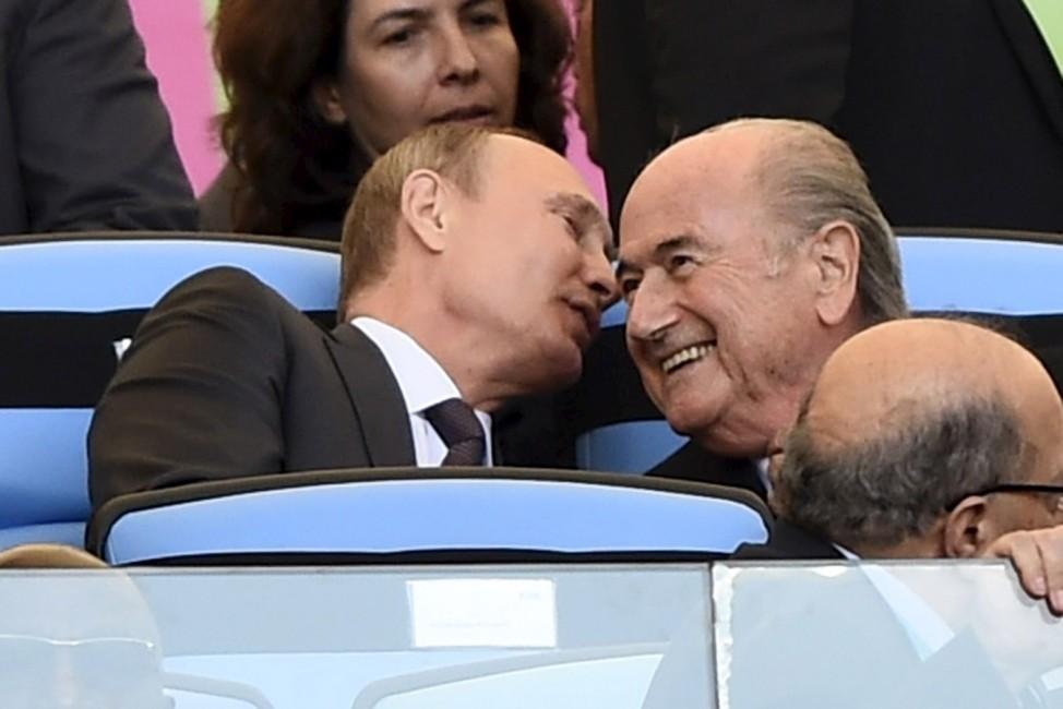From the Files âē Sepp Blatter Steps Down