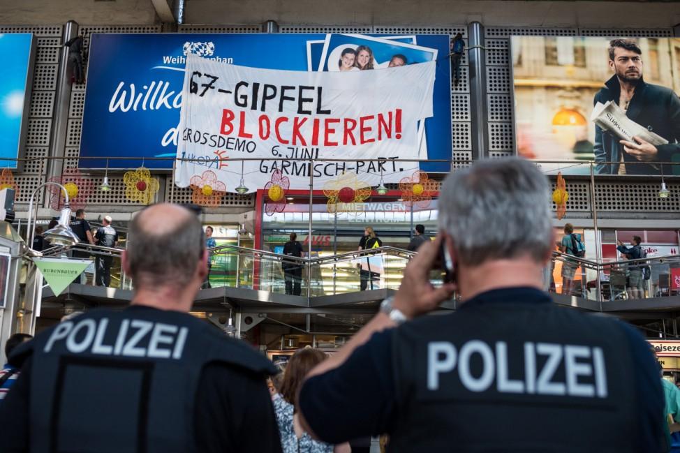 G7-Gipfel 2015 - - Demonstration