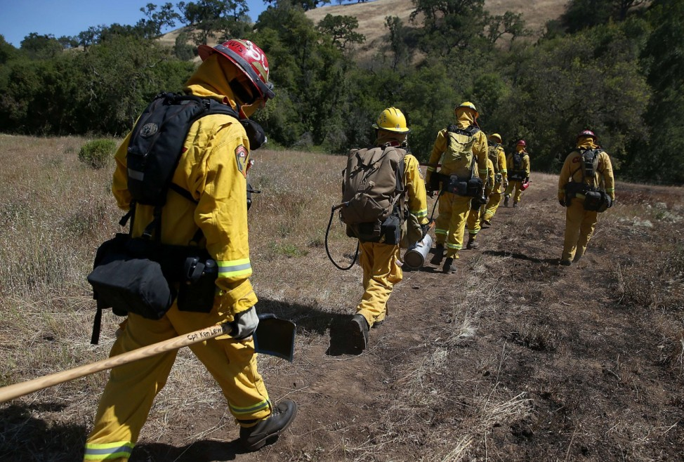 California Firefighters Undergo Training For Controlled Burns During Wildfires