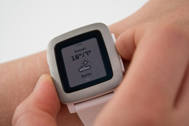 Pebble Time: Der Langläufer unter den Smartwatches