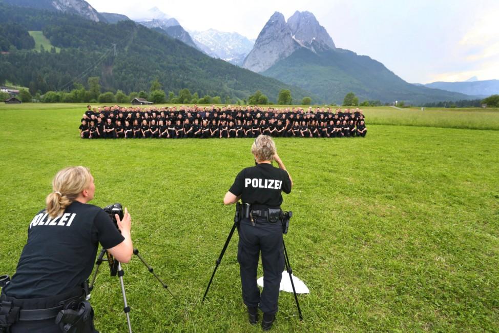 Vor dem G7-Gipfel - Polizei