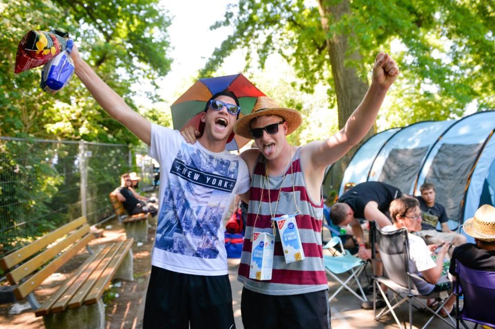 Rock im Park 2015 - Ankunft Besucher