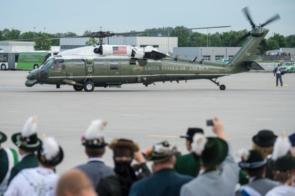 G7-Gipfel 2015 - Ankunft US-Präsident Barack Obama