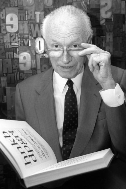 Schriftdesigner Hermann Zapf