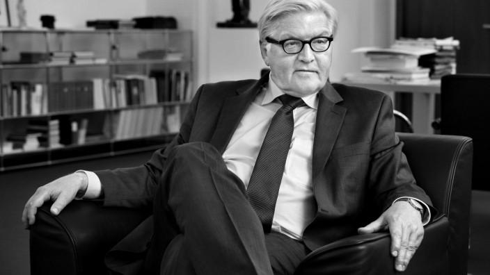 Frank-Walter Steinmeier im SZ-Interview