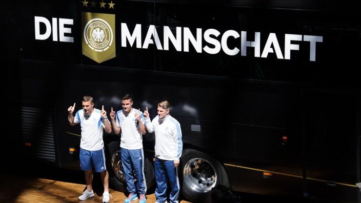 Fussball/GES/ Pressekonferenz  DFB Koeln, 08.06.2015