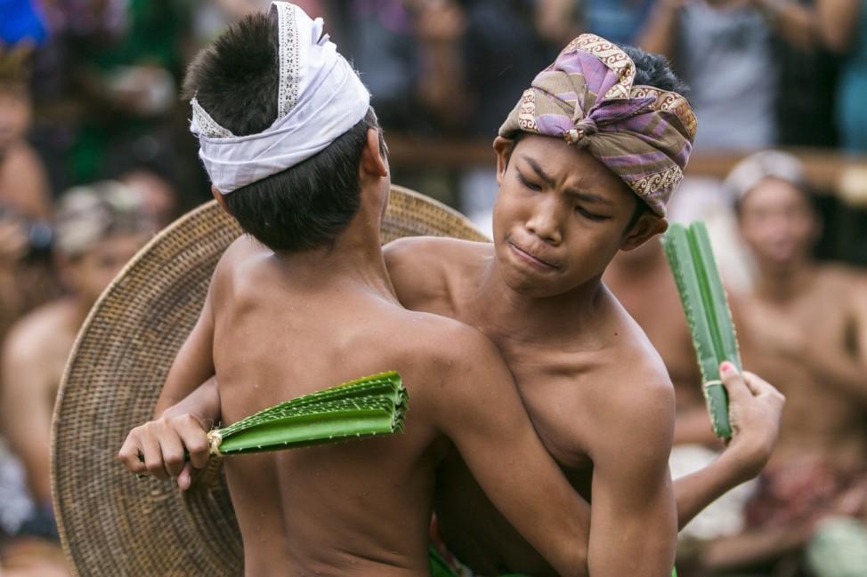 Pandanus Fight Ritual in Tenganan