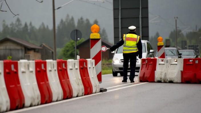 G7 Gipfel - Grenzkontrolle