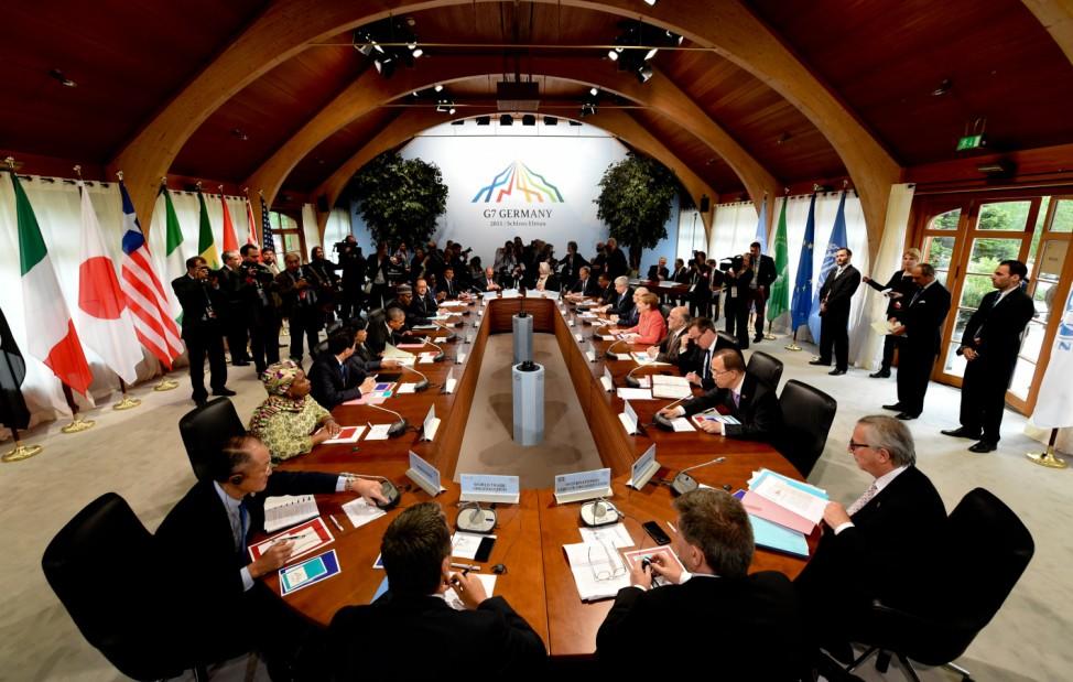 G7-Gipfel 2015 - Outreach Konferenz
