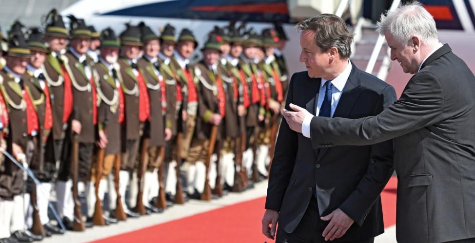 G7-Gipfel 2015 - Ankunft David Cameron