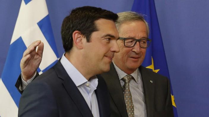 Greek Prime Minister for talks in Brussels