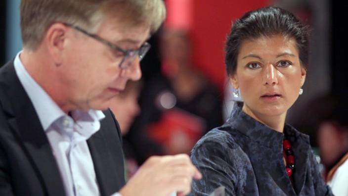 Sahra Wagenknecht und Dietmar Bartsch übernehmen Fraktionsvorsitz der Linkspartei