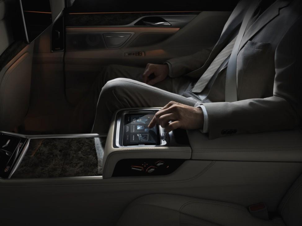 Die Gestensteuerung des neuen BMW 7ers.